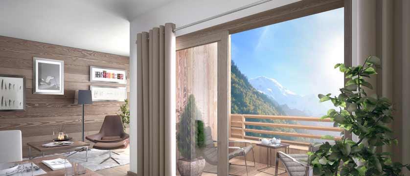 Cristal de Jade Residence, Chamonix, France - living area, balcony view.jpg